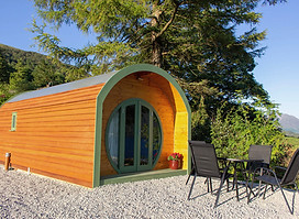 A standard Shire Pod in Scotland!