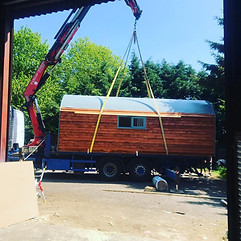 The Shire Pod in Transit