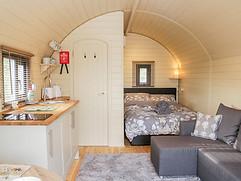 The Shire Pod at Sunrise Pods - Interior