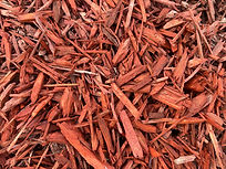Colored-red-mulch Landscaping Materials, Soils, Mulch, Play-chip, Roll-off service around Escondido, California in San Diego County