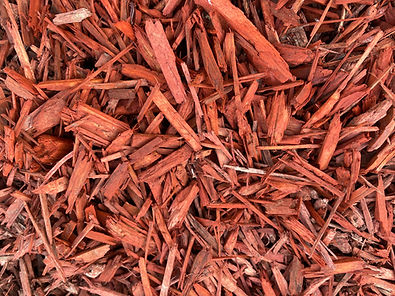 Red Dyed Mulch Landscaping Materials, Soils, Mulch, Play-chip, Roll-off service around Escondido, California in San Diego County