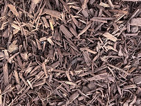 Brown-Colored-Mulch Landscaping Materials, Soils, Mulch, Play-chip, Roll-off service around Escondido, California in San Diego County