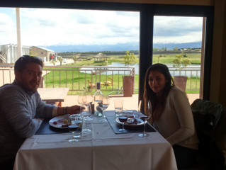 Nice day in valle de uco with Sean and Nicolle...
