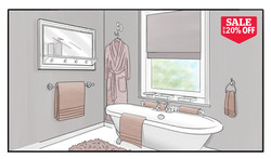 Dunelm Bathroom