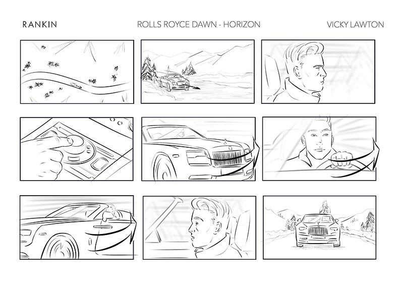 Rolls Royce Dawn Horizon