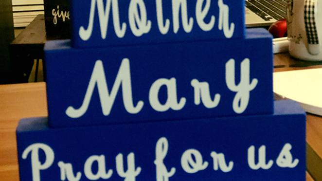 Mother Mary Saint Block