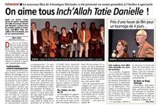 On aime tous Inch 'Allah Tatie Danielle !