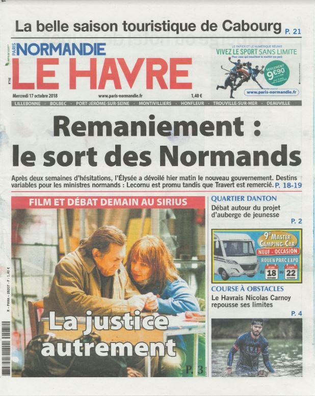 Page de couv en mille morceaux Paris Nor
