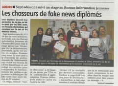 Les chasseurs de fake news diplomés
