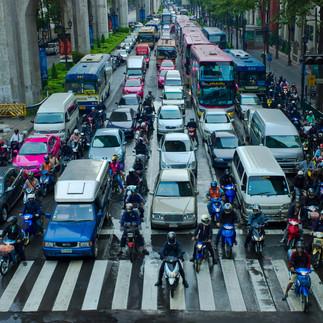 Traffic in BKK