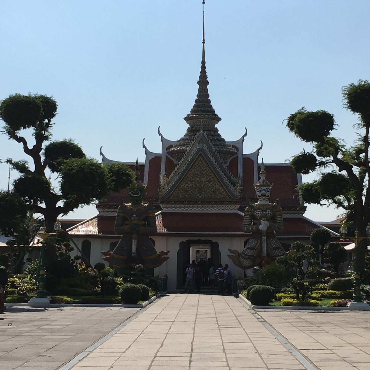 Tempelanlage beim Wat Arun