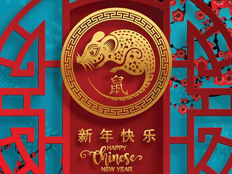 Chinesisches Neujahr 2020 in Thailand