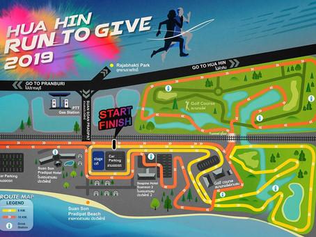 Hua Hin Run To Give 2019