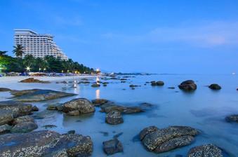 Hua Hin Beach by Night