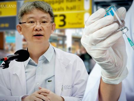 Laut dem Gesundheitsminister erhält Thailand ab Februar 2021 zwei Millionen Impfdosen