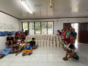 APCF - rice packing for 500 families