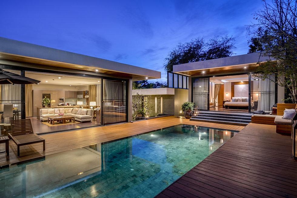 Pool Villa Thailand Hua Hin take a breat