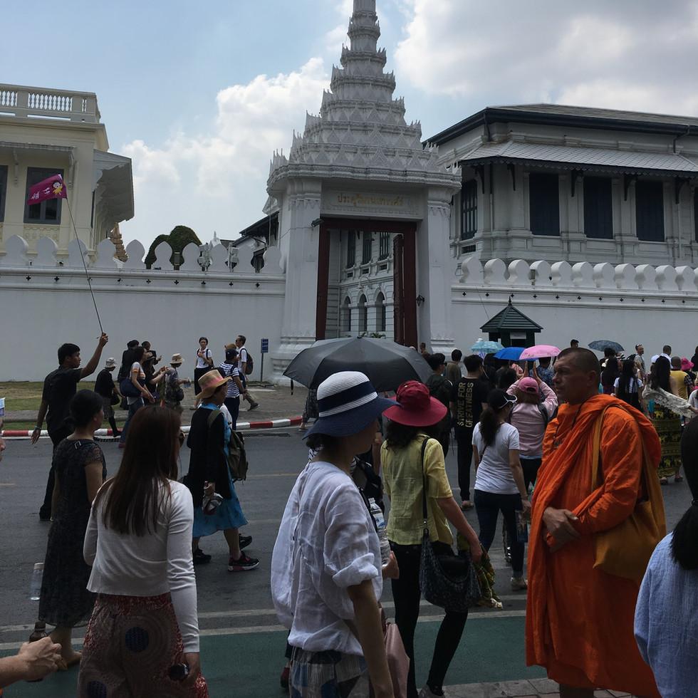 Eingangsbereich des Grand Palace