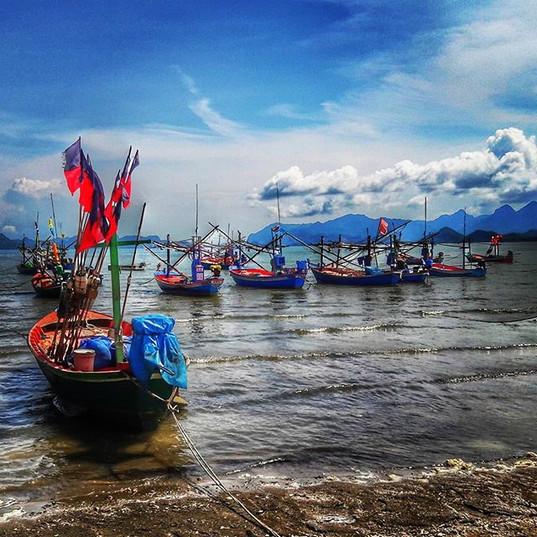 Hua Hin das moderne Fischerdorf