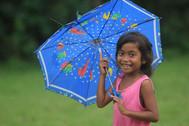 APCF - walking in the rain