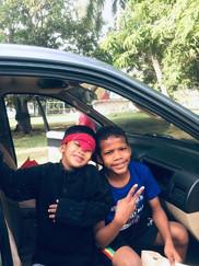 APCF - 2 little boys wishing to go somewhere