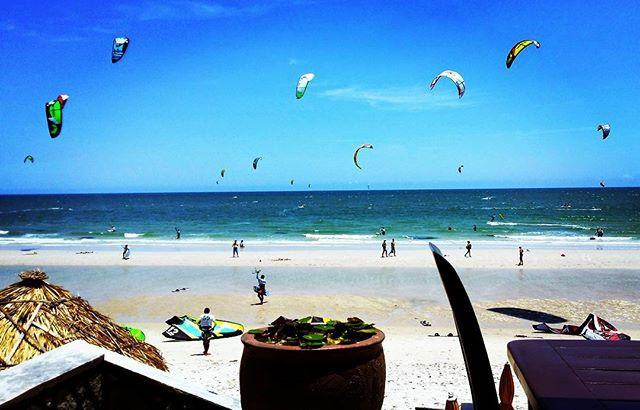 Hua Hin ein Kite Surf Mekka