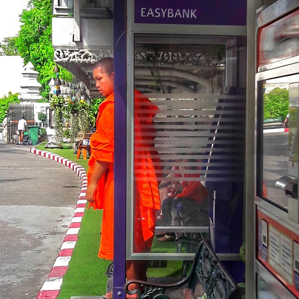 Auch Mönche brauchen Geld