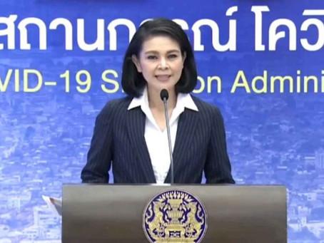 Laut CCSA wird Thailand bis Oktober vollständig wiedereröffnet