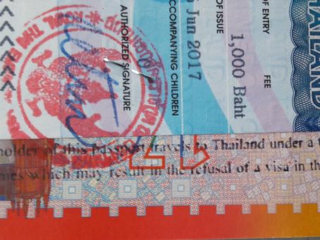 Stop Tourist Visum