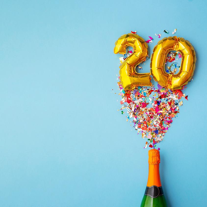 20th Anniversary Celebration Event - postponed till 2021
