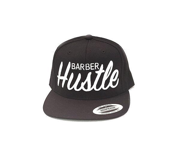 Og barber hustle snapback, color black