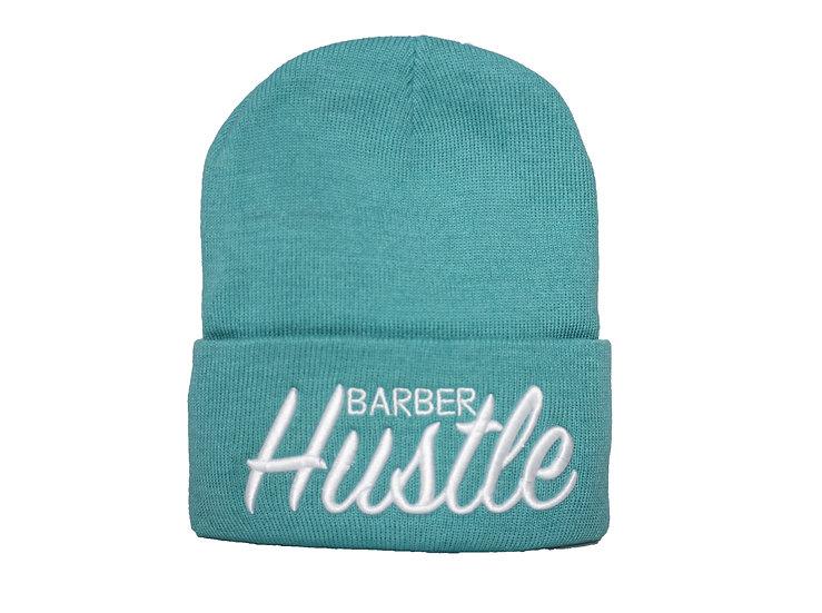 Barber Hustle turquoise Beanie
