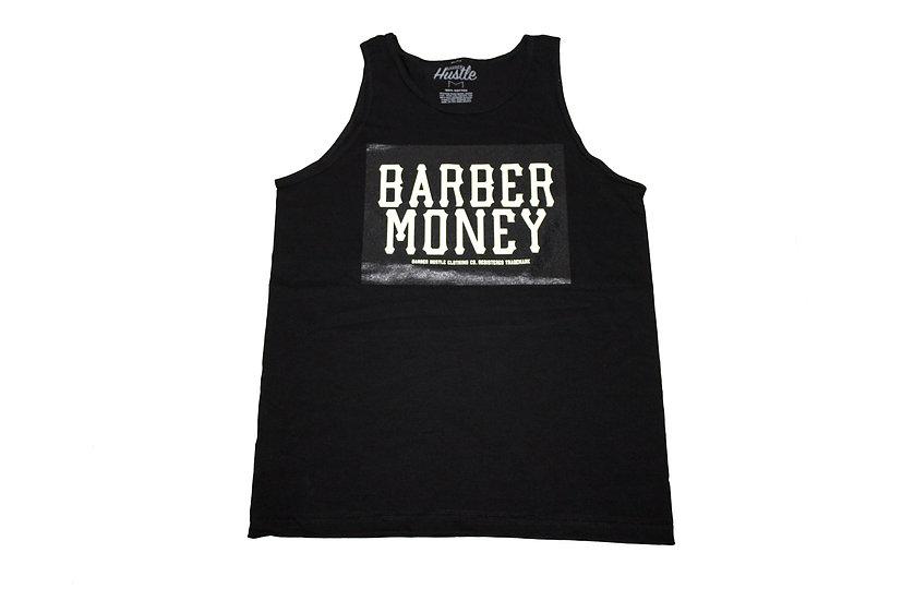 Barber Money. Men's black Tank