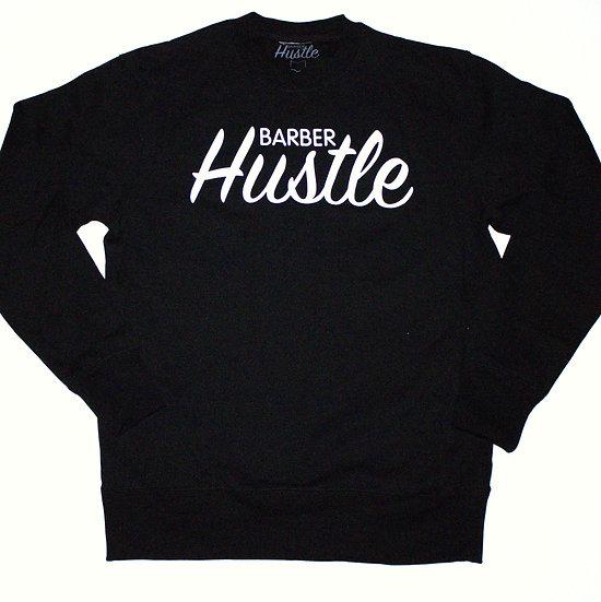 Og barber hustle /crewneck /black