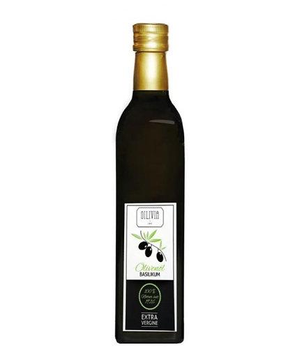 Oilivia Basilikum Olivenöl Nativ Extra 0,5 L