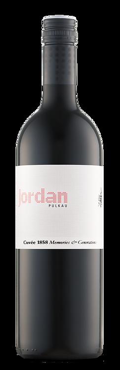 Jordan Cuvee 1858 Memories en Generations 2018