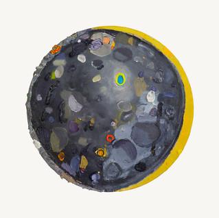 """Steel Moon"" 2019 (SOLD)"