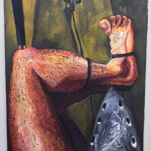 """Iron and leg"" 2016"