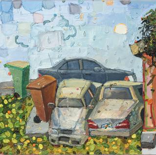 "Detail of ""Efichensi en Miami"" 2016 (SOLD)"