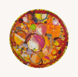 """Moon Clock (Pizza)"" 2019"