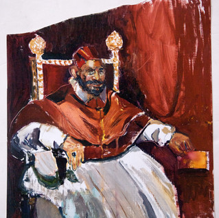 Selfportrait as Pope 2014