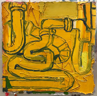 """""""Yellow Pipes"""" 2019"""