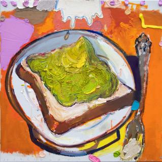 """Avocado Toast"" 2018  (SOLD)"