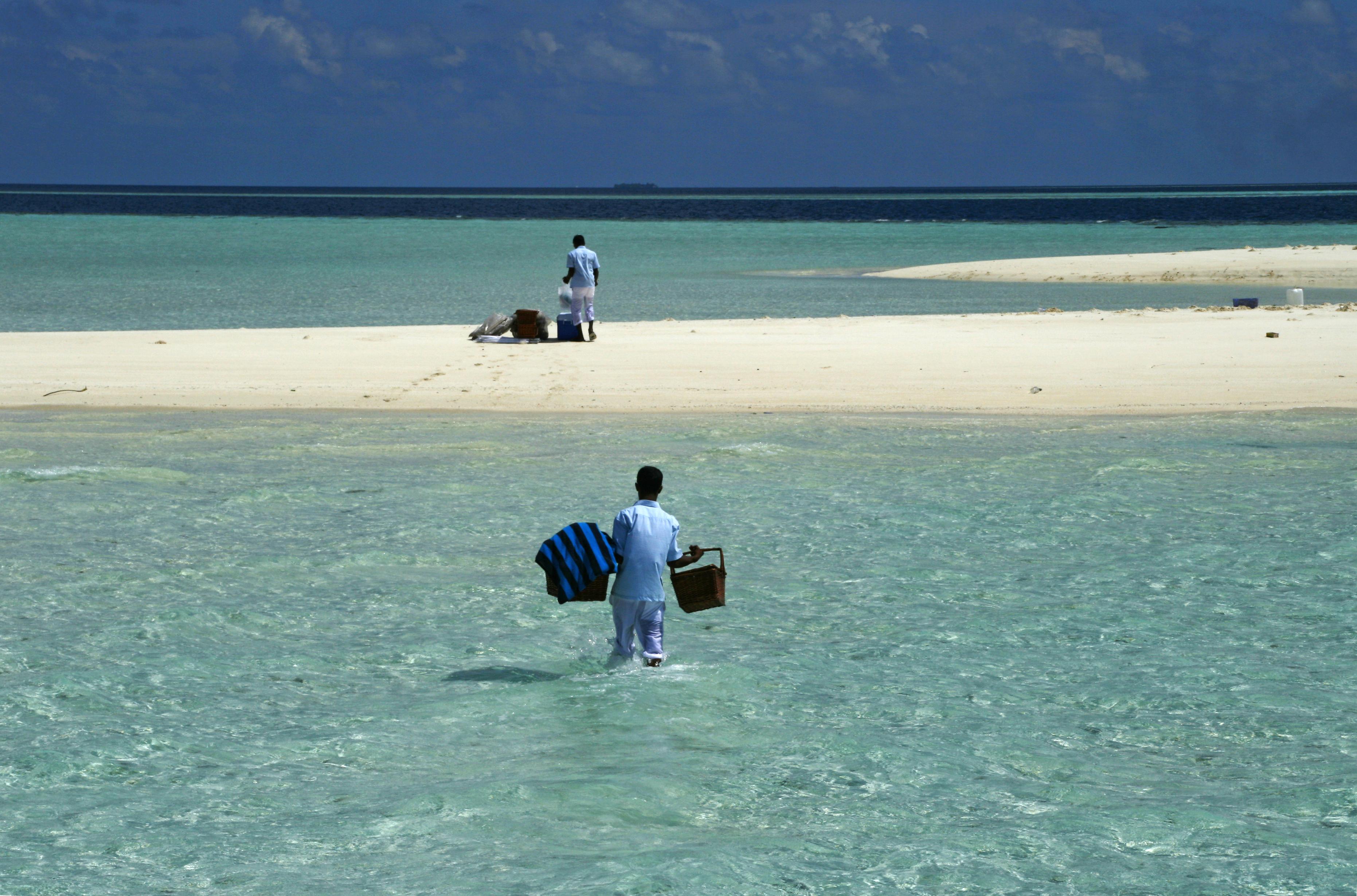 Trip to a Sandbank