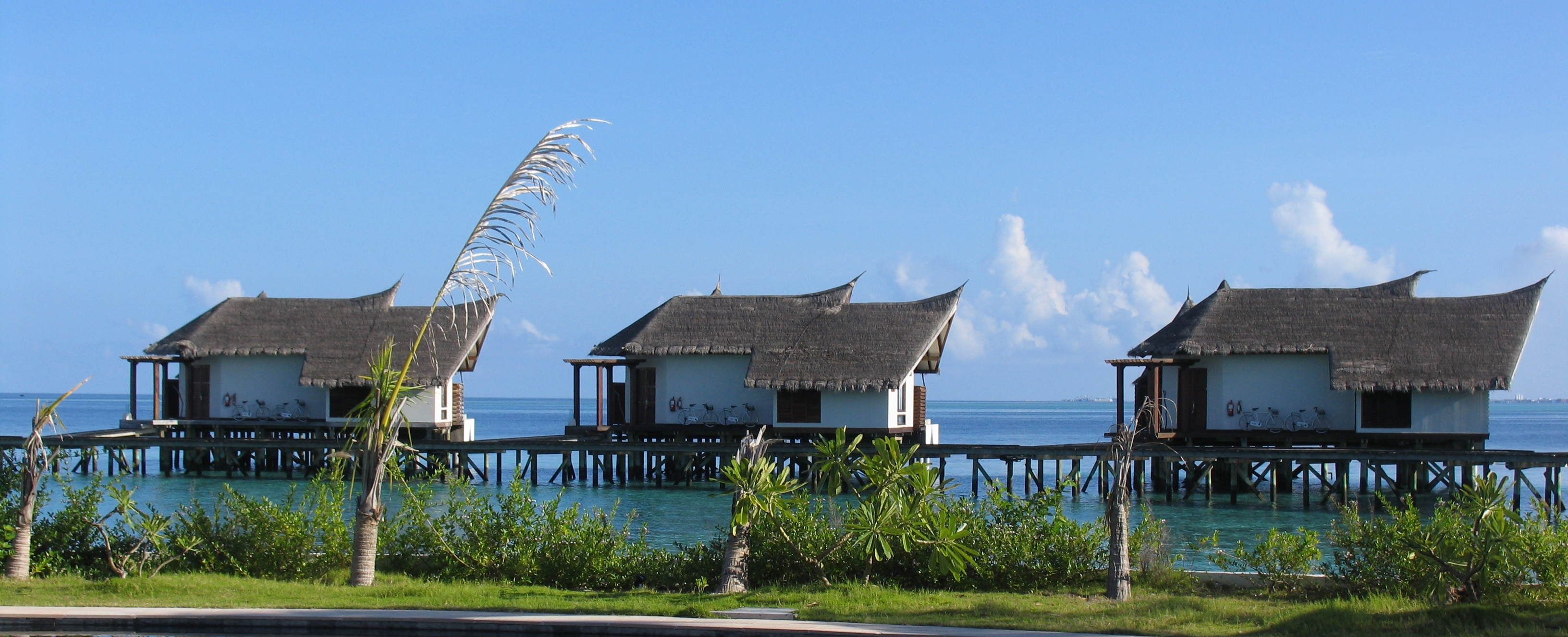 Malediven watervilla
