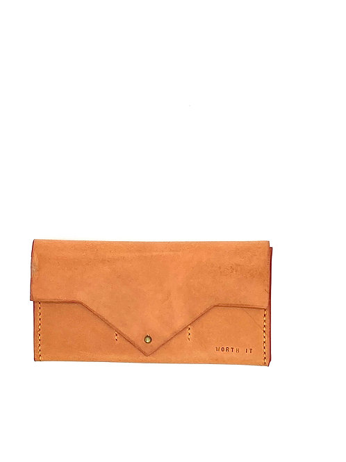 """WORTH IT"" Wallet in Rose"