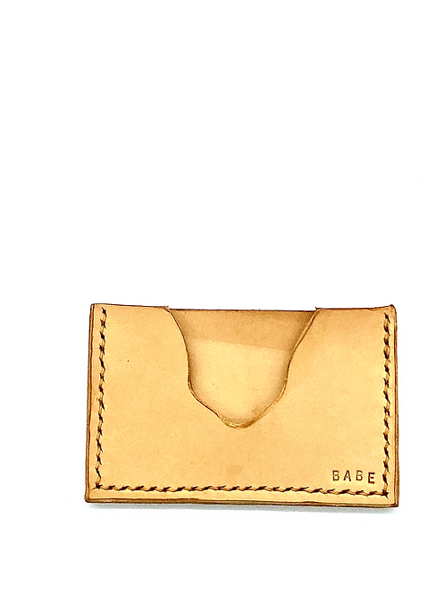 """BABE"" Cardholder in Tan"