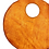"Thumbnail: ""GIRLS RULE"" Circle Bag in Olmo"