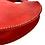 "Thumbnail: ""GIRLS RULE"" Circle Bag in Red"