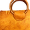 "Thumbnail: ""GOLDEN GAL"" Half Moon Handbag in Olmo"